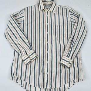 Vintage Burberry's Button Front Collared Shirt